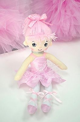 "Butterfly Craze 17"" Ballerina Doll for Little Girls' Ballet"