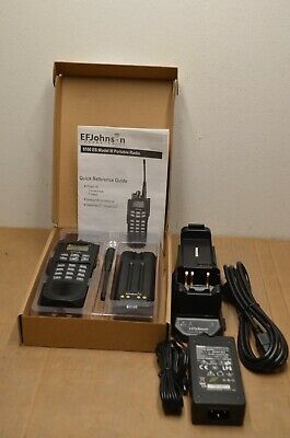 Ef Johnson 5100 Es Uhf 380-470 Mhz V 6.16.18 5100 Charger Kit Wswitching Ps