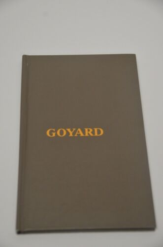 Goyard Catalog Lookbook RARE 47 Pages Both ENGLISH and French