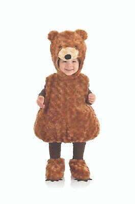 Underwraps Bauch Babys Teddybär Plüsch Kleinkinder Halloween Kostüm (Kleines Baby Teddy Bär Kostüm)