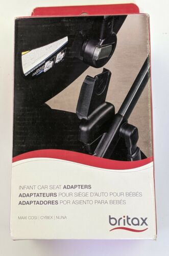 Britax Infant Car Seat Adapter for Nuna, Cybex and Maxi Cosi Car Seats Brand New