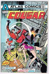 COUGAR-1-Atlas-Seaboard-Comics-BRONZE-AGE-25-CENT-1975-VF-UNREAD-HIGH-GRADE