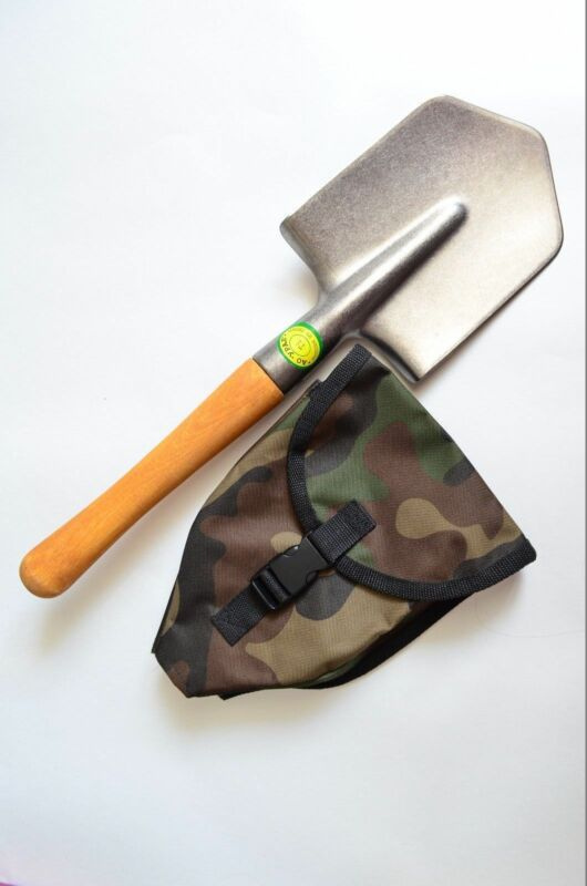 Titanium Army Shovel Cold Steel Special Forces with Sheath