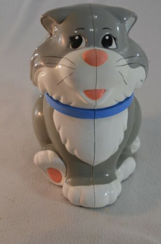 Cat Cookie Jar That Meows When Open
