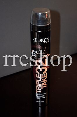 REDKEN TRIPLE TAKE 32 HAIR SPRAY 9.0 OZ Extreme Highhold Spray Lot of 2