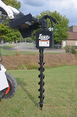 Bobcat Skid Steer Attachment Lowe 750 Round Auger Drive With 4 Bit - Ship 199