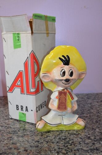 Looney Tunes Large 11.5 inch Speedy Gonzales Alpa Empty Decanter with Tag