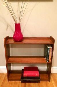 Vintage Mid Century Danish Modern Bookcase Bookshelf