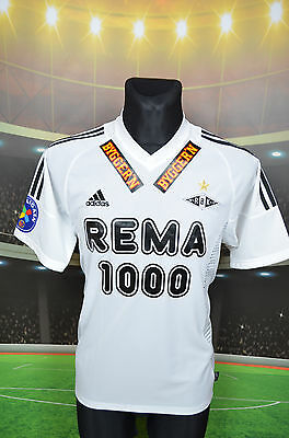 ROSENBORG HOME ADIDAS 2003 FOOTBALL SHIRT (S) NORWAY TRIKOT JERSEY TOP RBK image