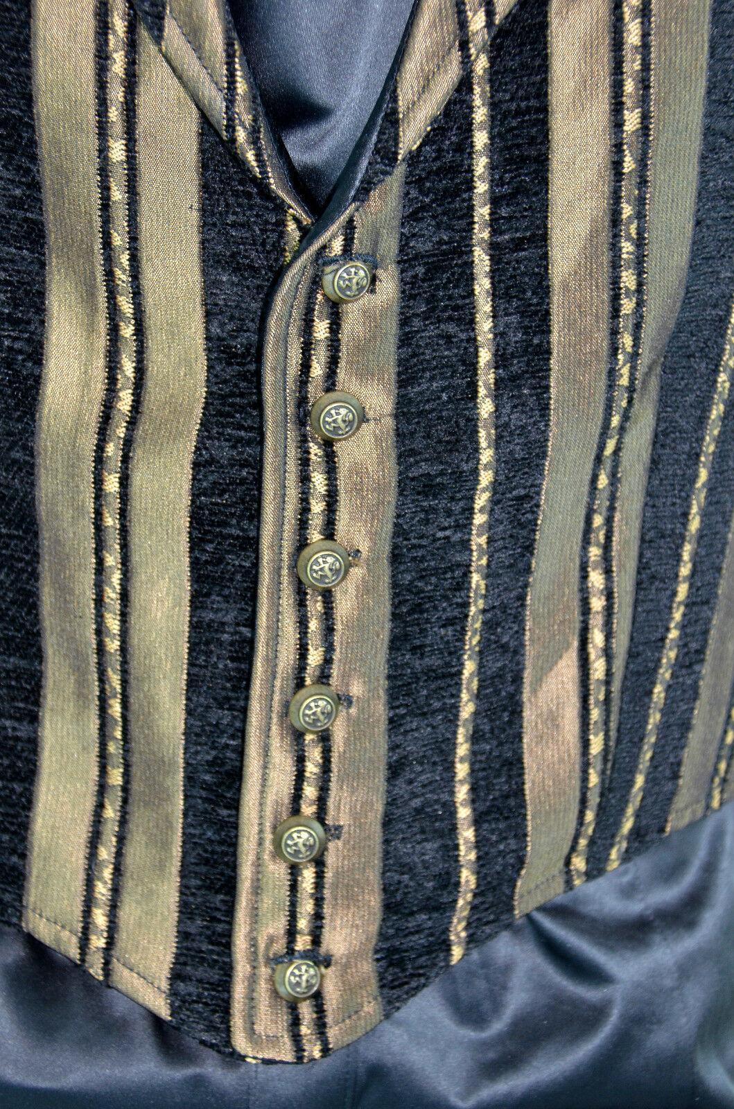 SHRINE GOTHIC ARISTOCRAT VAMPIRE VEST JACKET VICTORIAN TAPESTRY PIRAT STEAMPUNK Clothing, Shoes & Accessories