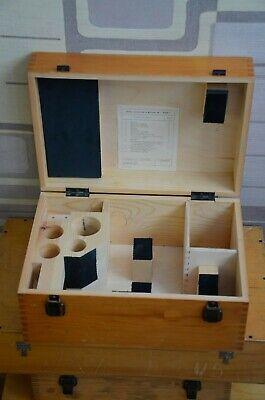 Lomo Original Wooden Box Olk-2 For Microscope