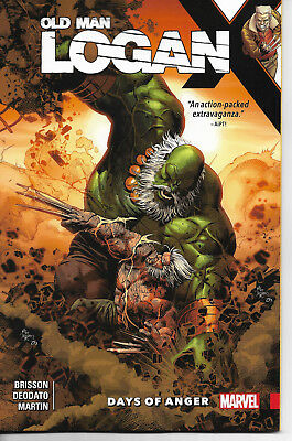Wolverine   Old Man Logan Vol 6   Days Of Anger    Softcover   New