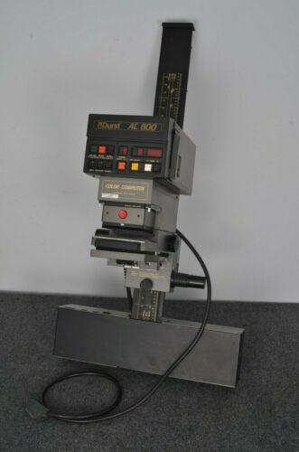 EXC++ DURST AC800 ENLARGER w/50 & 80mm LENSES, 35mm CARRIER, TESTED, WORKS GREAT
