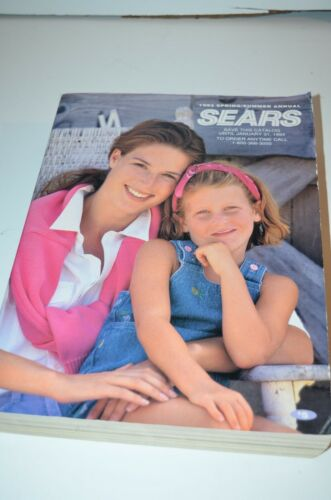 Vintage 1993 Sears Annual Catalog Edition Good Used Condition Spring Summer