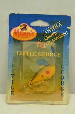 plus deep running diving crankbait 5//8oz fire shad w// little george manns 20