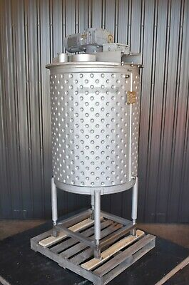 200 Gallon Jacketed Mix Tank Sanitary