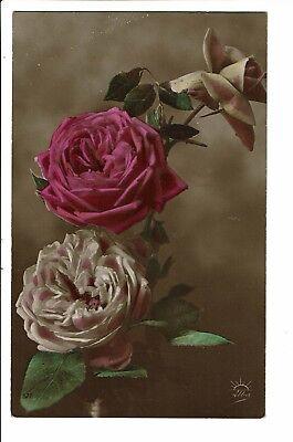 CPA - Carte Postale -Belgique - 3 Roses --1912 -S4918