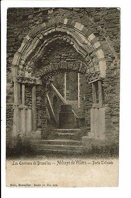 CPA - Carte Postale - Belgique-Villers-la-Ville Porte Trilobée de l'abbaye-1906-