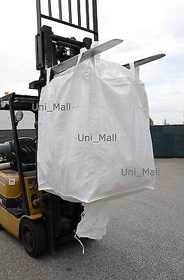 Brand New Bulk bag 41x38x63 FIBC (Sack) Ton bag 2200LB SWL,Fast Shipping