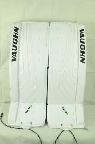 Vaughn Ventus SLR 2 Goalie Leg Pads Intermediate Size 29+2 White (0810-0097-D)