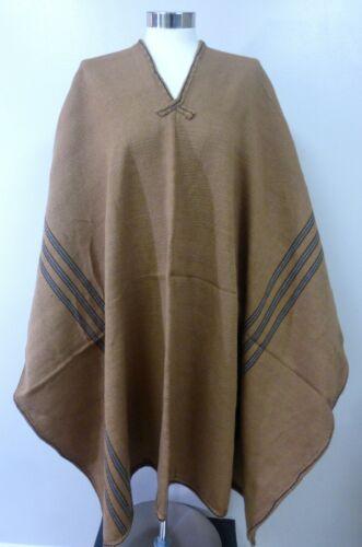Shaman Poncho Cape -  Peruvian Andean Mountain Woven Textile