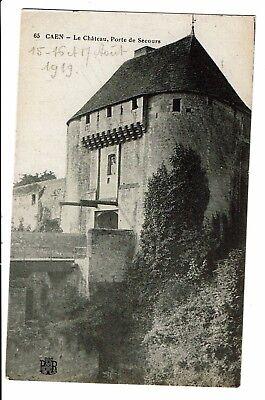 CPA-Carte postale-France - Caen - Son Château - Porte de secours  -S3199