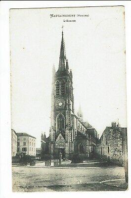CPA - Carte postale - FRANCE -   Mattaincourt-  Son Eglise -1909 - S2154