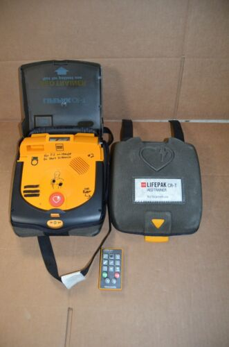 MEDTRONIC LIFEPAK CR-T AED TRAINER- NOT FOR PATIENT USE