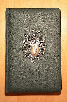 Poesiealbum mit Wappen aus Metall, 1. Weltkrieg, 1915