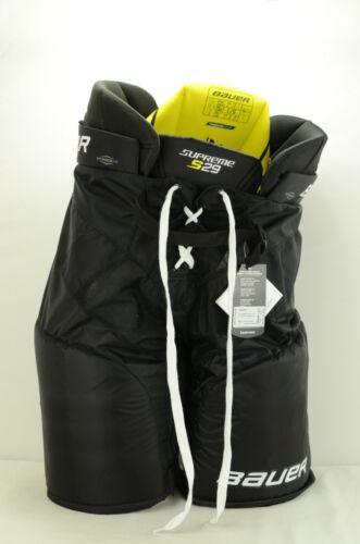 Bauer Supreme S29 Ice Hockey Pants Senior Size Large Black (0624)