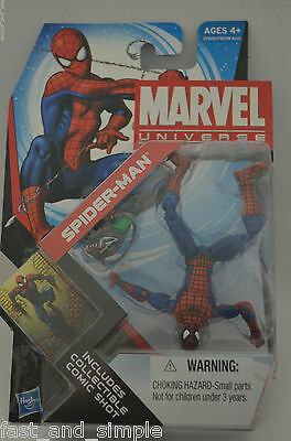 "SPIDER-MAN Marvel Universe 4"" inch Action Figure #7 Series 4 2011"