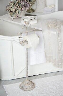 Clayre & Eef Toilettenpapierhalter WC Rollenhalter Shabby Chic Vintage Landhaus