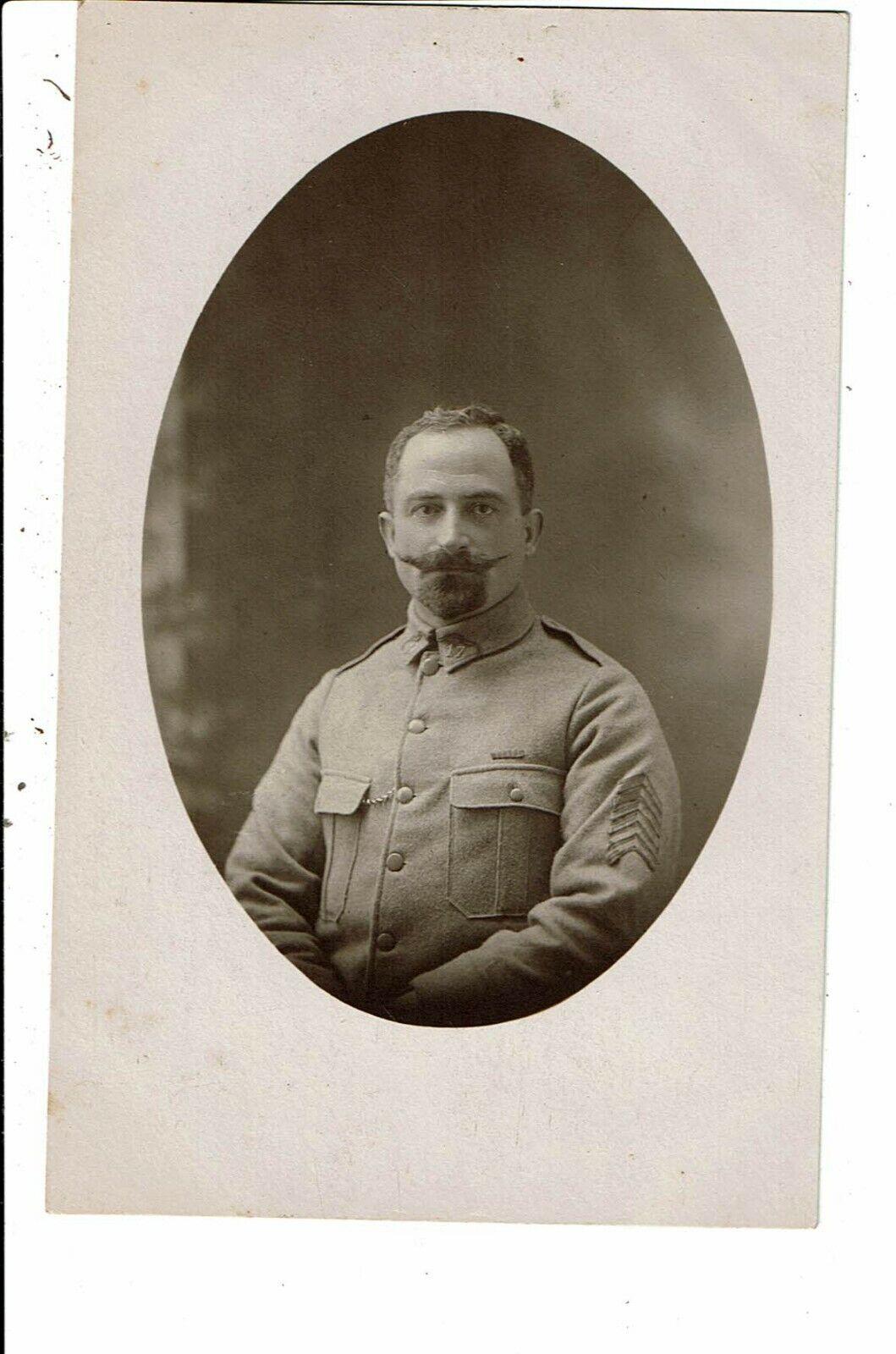 CPA-Carte Postale-France-Photographie d'un militaire  moustachu- VM6807