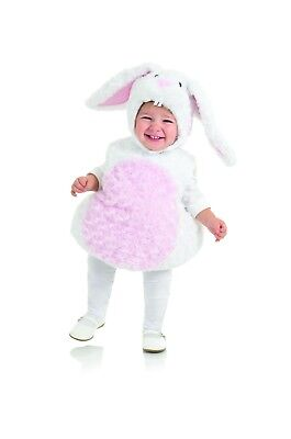 Underwraps White Rabbit Belly Babies Animal Cuddly Child Halloween Costume 25820](Infant White Rabbit Costume)