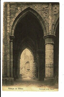 CPA - Carte Postale - Belgique Villers la Ville- Colonnade dans l'église