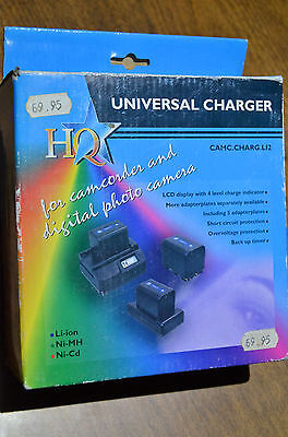 Universal Li-Ion Camera Battery Charger NEW - mmoetwil@hotmail.com  +32475277772