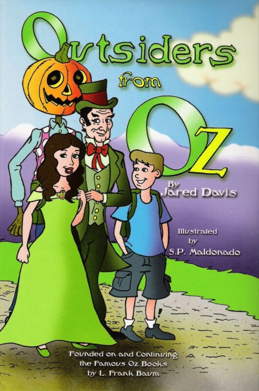 Outsiders From Oz; Continuation from the L. Frank Baum series; Thompson