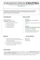 Looking for part Time job