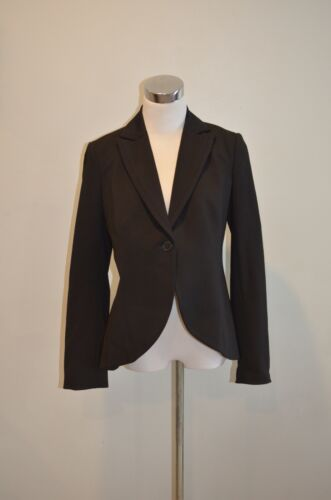A Pea In The Pod Blazer Jacket Maternity Black Stretch Classic Career Size Small