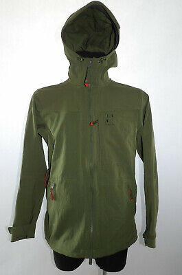 """Haglofs """"L"""" Rugged Fjell Climatic Womens Green Softshell Jacket Ladies Hooded for sale  Shipping to United Kingdom"""