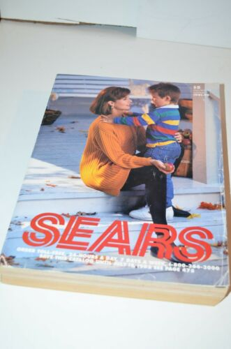 Vintage 1991 /92 Sears Annual Catalog Edition Good Used Condition Fall winter
