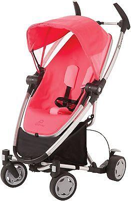 Quinny Zapp Xtra Folding Seat Stroller Pink Precious Brand Open Box