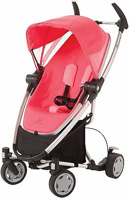Quinny Zapp Xtra Folding Seat Stroller Pink Precious Brand Open Box
