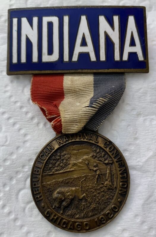 1920 Republican National Convention - Indiana