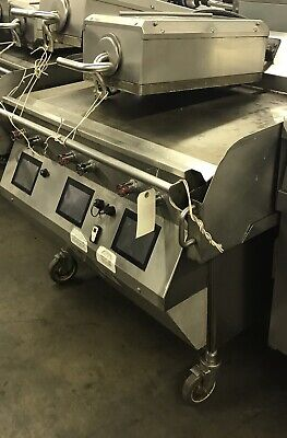 Taylor Crown Commercial Flat Top Grill L813-23 Gas 2 Platen Clamshell