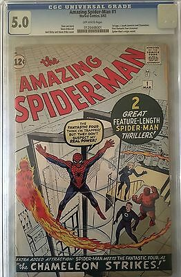 The Amazing Spider-Man #1 CGC 5.0 Old Submission 2003