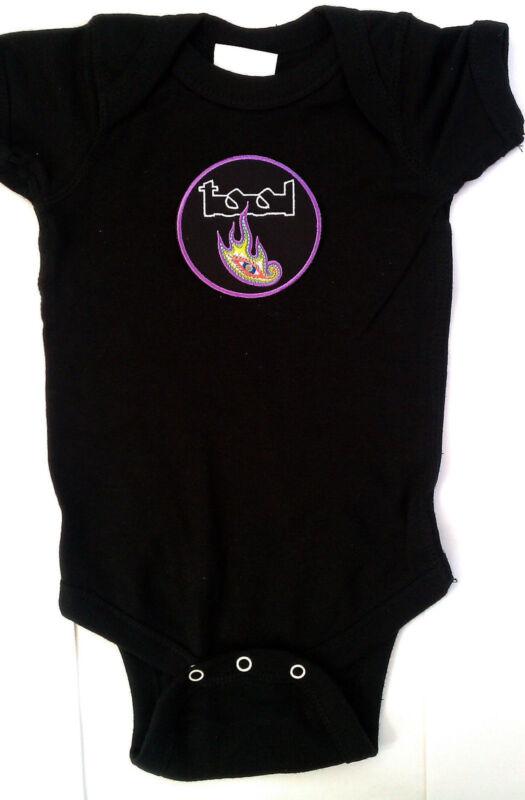 TOOL BABY ONE PIECE CREEPER  LICENSED METAL ROCK T-SHIRT  MAYNARD JAMES KEENAN