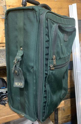 TUMi Alpha 22 Black Rolling Luggage Suitcase Vintage - $51.20