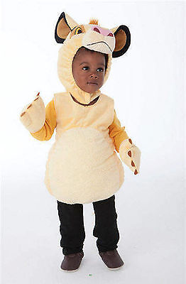 Disney Store SIMBA Cub Lion King DELUXE PLUSH 2-PIECE Costume Halloween - Sizes
