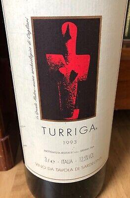 Turriga 1993 D-Magnum 3 Ltr. in Original-Holzkiste Rotwein Sardinien